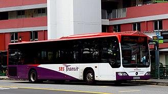 SBS Transit - Image: SBS6593S on 63M