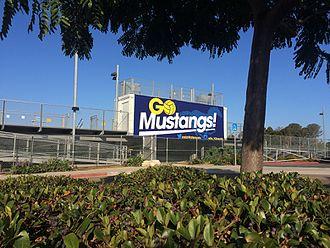 San Dieguito Academy - Boys Water Polo banner at San Dieguito High School Academy in Encinitas