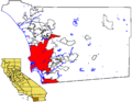 SD in SD County map.png