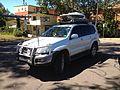 SES Media vehicle near Wagga Beach carpark and caravan park.jpg