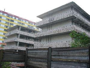 Dumplings (film) - Mei's Hong Kong apartment is located within Shek Kip Mei Estate. Block 40, demolished in 2007, is featured in the film.