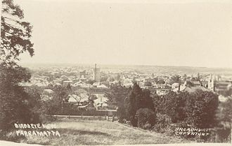 Parramatta - Parramatta in the early 20th century