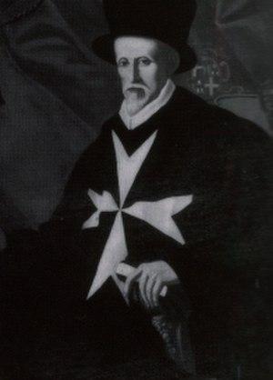 Juan de Homedes y Coscon - Image: SMOM 47. GM Jean de Homedes