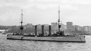 SMS Dresden (1907) - Image: SMS Dresden 1909 LOC det 4a 16116