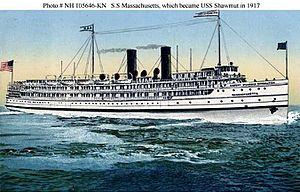 USS Oglala (CM-4) - Image: SS Massachusetts