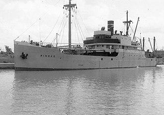 SS Francisco Morazan (1922) - Image: SS Ringas