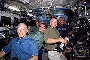 STS117 Crew Flight Day5