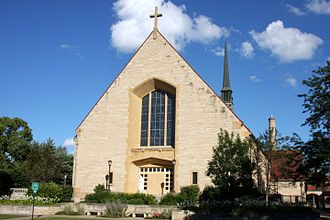 Roman Catholic Diocese of Winona-Rochester - Image: Sacred Heart Cathedral Winona MN