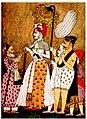 Sadashivrao Bhau with Ibrahim Khan Gardi.jpg