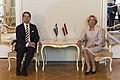 Saeimas priekšsēdētāja Ināra Mūrniece tiekas ar Zviedrijas vēstnieku (35686922465).jpg