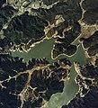 Saga Hokuzan dam aerial.jpg