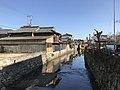 Sainokigawa River near Ukiha City Kaneko Fumio Museum.jpg