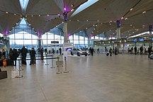 Pulkovo Airport-Statistics-Saint-Pétersbourg - Aéroport - Hall des départ - 2015-12-15 - IMG 0761