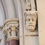 Saint Julie Billiart Catholic Church (Hamilton, OH) - west portal, Saint Mark & jambshaft.jpg