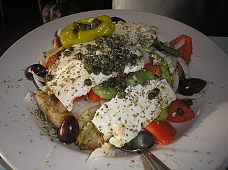 Greek salad - Cretan salad