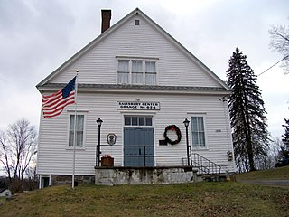Salisbury Center Grange Hall