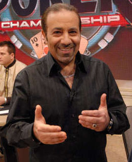 Sam Farha Lebanese poker player