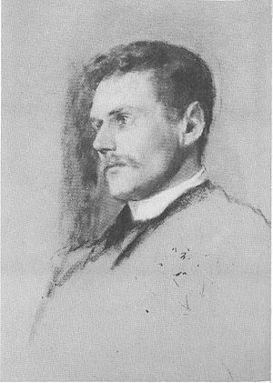 Samuel Hill - Sketch of Hill in 1889, the year after he married