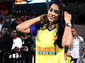 Sameera Reddy viewing CCL match.jpg