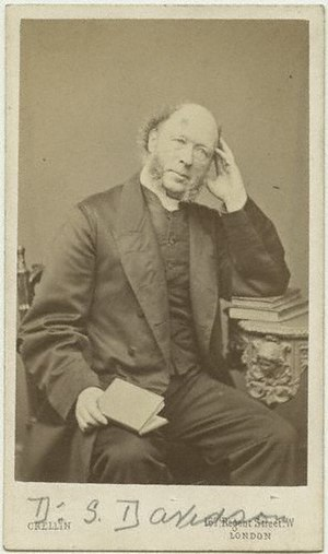 Samuel Davidson - carte de visite from the mid-1860s.