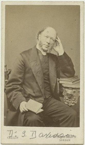 Samuel Davidson - carte de visite from the mid-1860s.