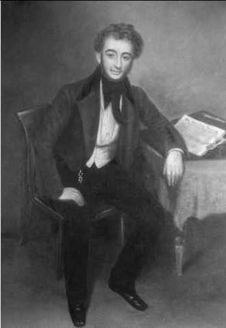 Samuel Stephens (Colonial Manager) - Samuel Stephens, first South Australian Company Colonial Manager (1836-1837) ca.1835