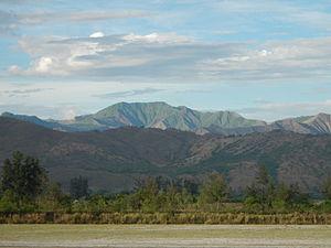 Zambales Mountains - Zambales Mountain Range view from San Narciso, Zambales