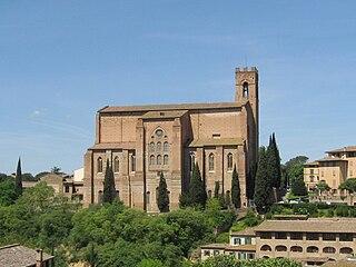church in Siena, Tuscany, Italy