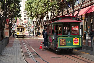 San Francisco cable car system - Powell Street
