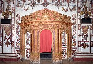 Martin Schmid - Confessional in the Church of San Miguel de Velasco, Bolivia; in memory of Martin Schmid