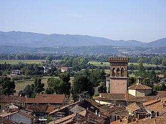 Dionigi di Borgo San Sepolcro - Roofs of Sansepolcro