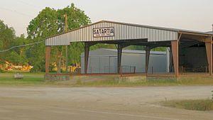 Satartia, Mississippi - Processing gin in Satartia, 2011
