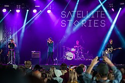 Satellite Stories Ilosaarirockissa 2017.