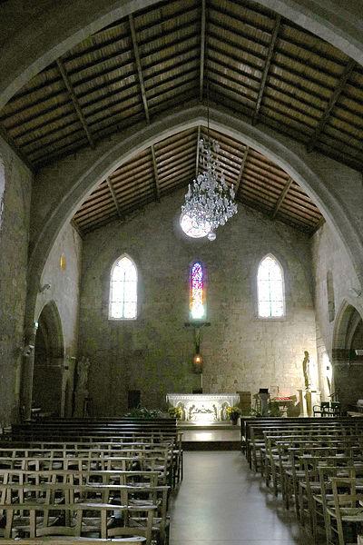 Sauvian (Hérault) - église Saint-Corneille-et-Saint-Cyprien - nef