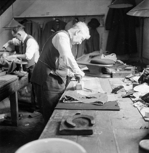 File:Savile Row- Tailoring at Henry Poole and Co., London ...