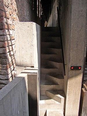 Carlo Scarpa - Castelvecchio, stairs by Carlo Scarpa