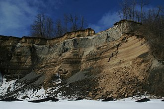 Scarborough Bluffs - Erosion is a major issue in the preservation of the Scarborough Bluffs.