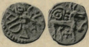 Ælfwald I of Northumbria - Sceat of Ælfwald I