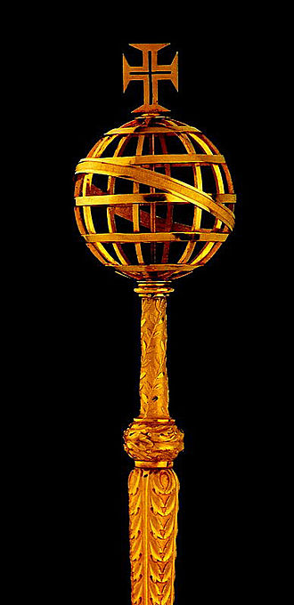 Portuguese Crown Jewels - The Sceptre of the Armillary.
