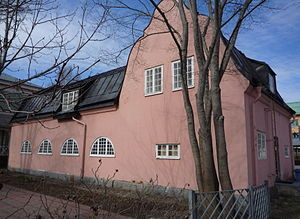 Scharinska villan - The gardener's house, from the south.