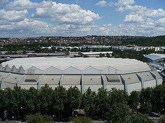 EuroBasket 1985 - Image: Schleyerhalle West