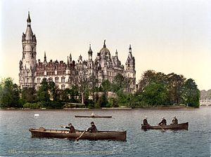 Grand Duchy of Mecklenburg-Schwerin - Schwerin Castle, Schwerin.