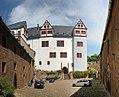 Schloss Rochsburg- Blick vom Wirtschaftshof zur Kernburg - geo.hlipp.de - 25544.jpg