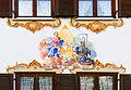 Schnell flieht die Zeit, sei bereit, mural, Oberammergau, Bavaria, Germany.jpg