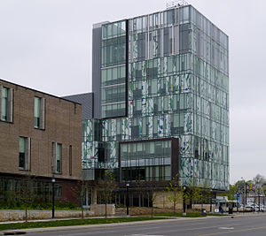 University of Waterloo School of Pharmacy - The School of Pharmacy building in Kitchener