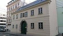 Ab 1801 wohnte Familie Schubert in der Säulengasse 3 in der Vorstadt Himmelpfortgrund (Quelle: Wikimedia)