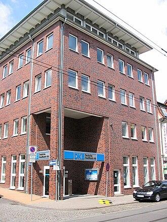 Deutsche Kreditbank - DKB building in Schwerin