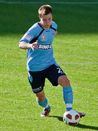 Scott Jamieson - Jamieson playing for Sydney FC in 2010