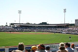 Scottsdale Stadium baseball field located in Scottsdale, Arizona