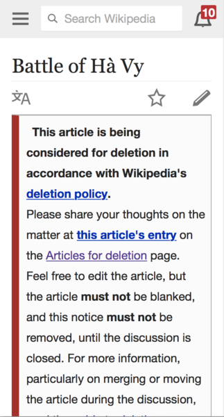 File:Screenshot of deletion ambox on English Wikipedia Mobile.png